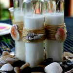 Make These Great Beach Themed Candles for Your Patio this Summer