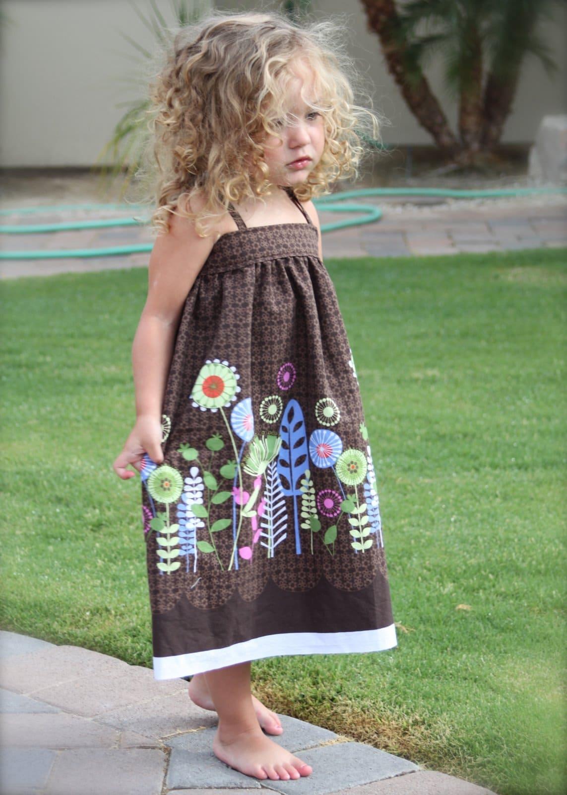 Adorable DIY Toddler Summer Sundress