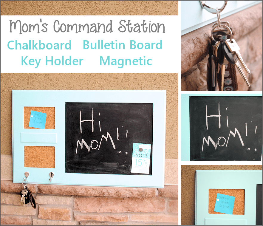 Keep the Family Organized with This Great DIY Command Station