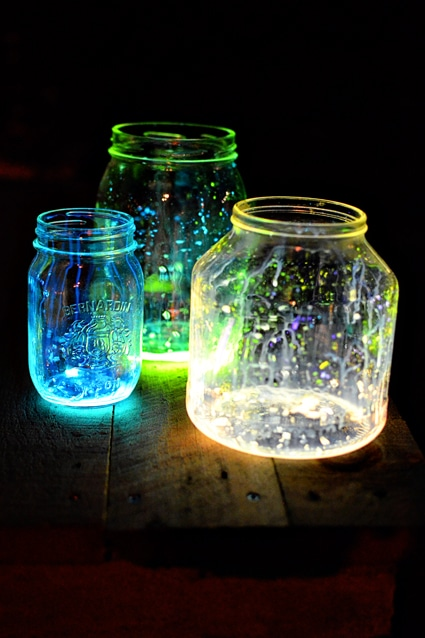 DIY Wedding Décor Ideas U2013 Beautiful Glow Jars