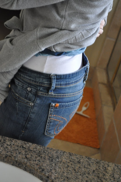 Can't Get Those Jeans to Fit Right? - Easy DIY Fix for Loose Jeans