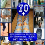 70+ Awesome Jeans DIY Projects Collection