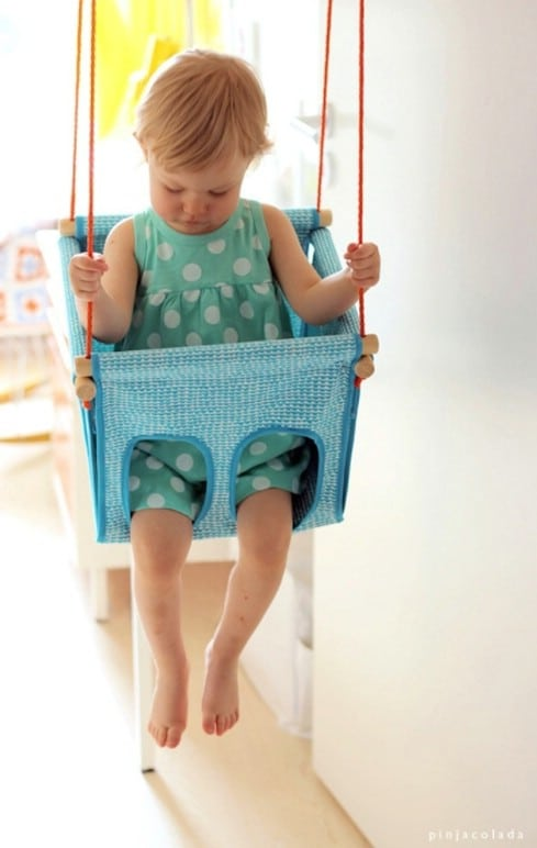 Top 28 most adorable diy baby projects of all time diy for Swing gracia