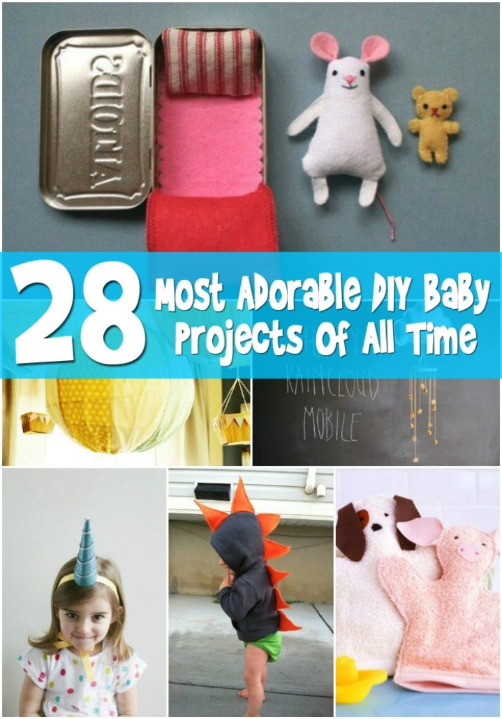 Top 28 most adorable diy baby projects of all time diy for Most popular diy crafts