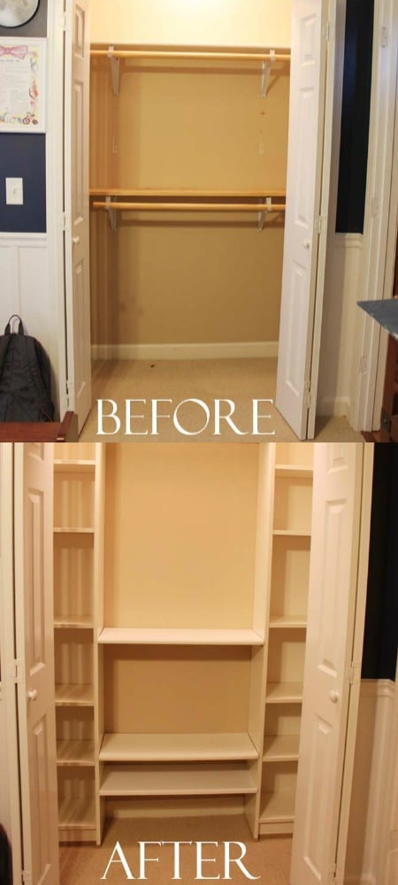 Fabulous DIY IKEA Closet System for Under $100 DIY & Crafts