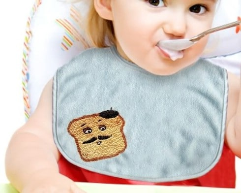 DIY Embroidered Toasties - Top 28 Most Adorable DIY Baby Projects Of All Time