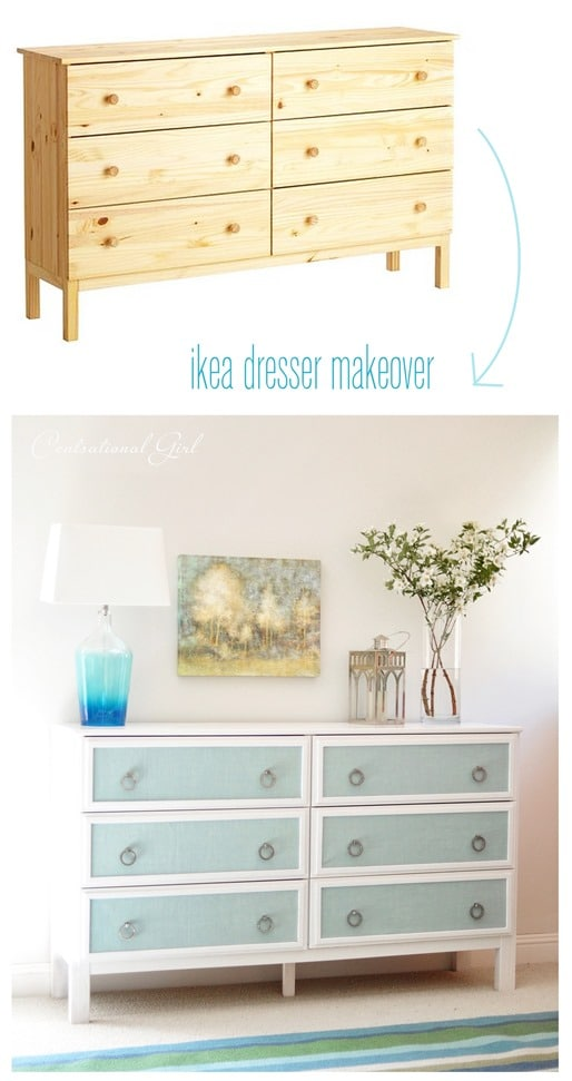 Beautiful DIY Dresser with Textured Panels