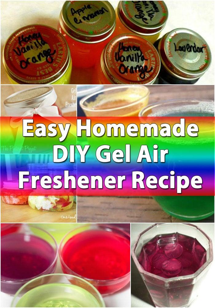 Easy homemade diy gel air freshener recipe diy crafts forumfinder Choice Image