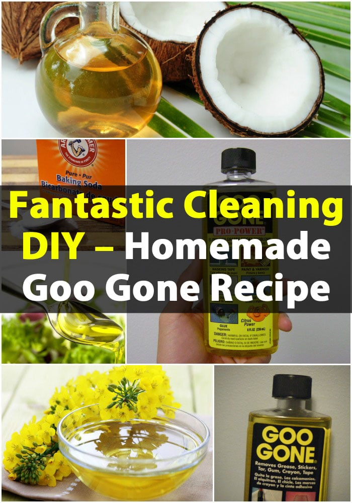 Fantastic Cleaning DIY – Homemade Goo Gone Recipe