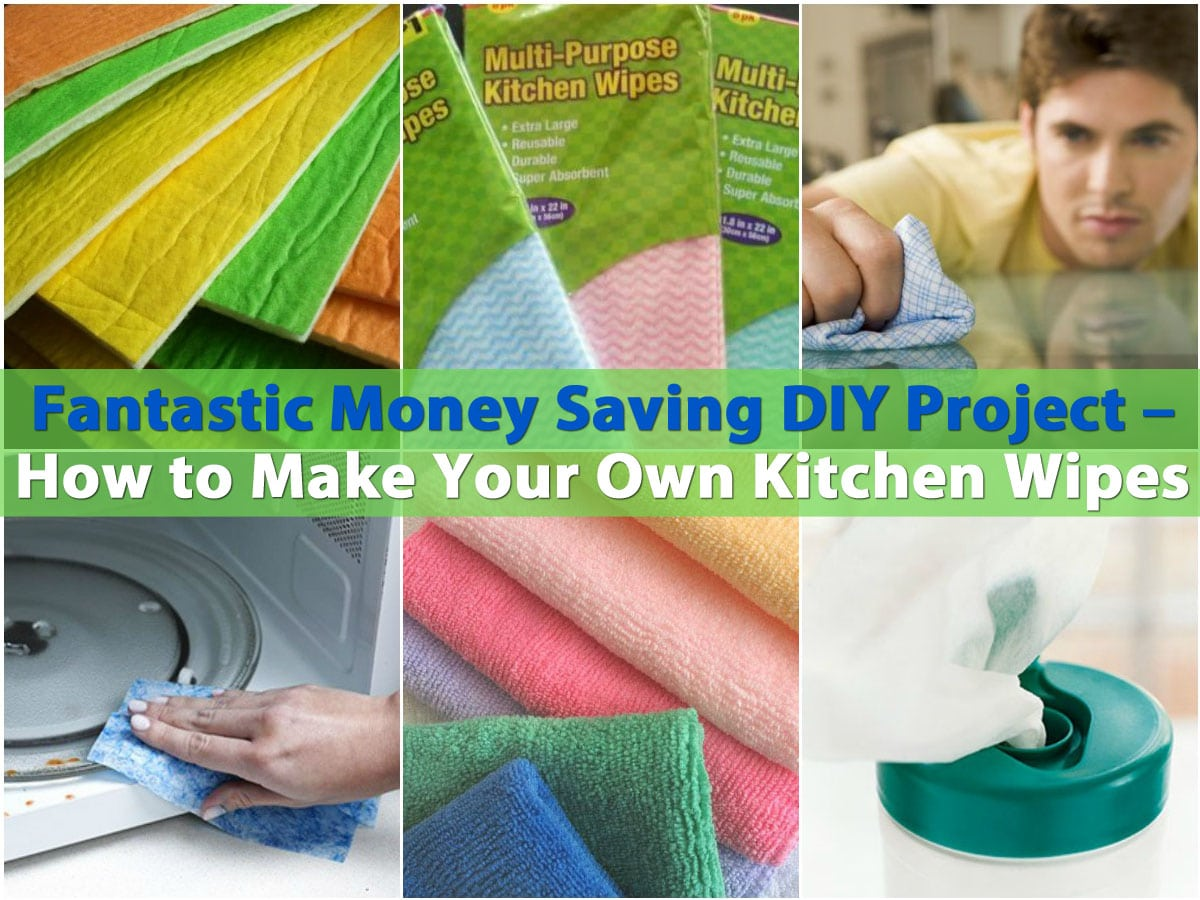 Fantastic money saving diy project how to make your own for Kitchen crafts to make