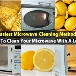 Easiest Microwave Cleaning Method – How To Clean Your Microwave With A Lemon