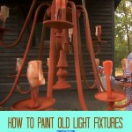 Awesome Home Décor DIY – How to Paint Old Light Fixtures