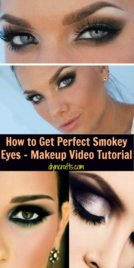 How To Get Perfect Smokey Eyes
