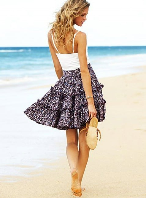 DIY XOX Skirt Step by Step Instructions - Top 15 Summer Ready DIY Skirts With Free Patterns and Instructions
