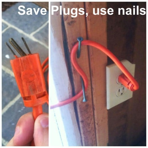 Save Plugs Use Nails - Top 68 Lifehacks and Clever Ideas that Will Make Your Life Easier