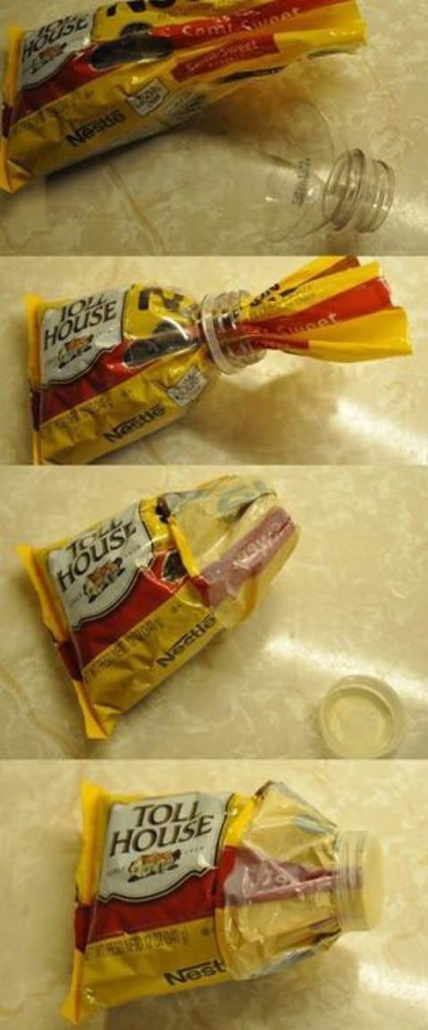 Close bags lifehack - Top 68 Lifehacks and Clever Ideas that Will Make Your Life Easier