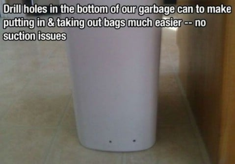 Garbage solution - Top 68 Lifehacks and Clever Ideas that Will Make Your Life Easier