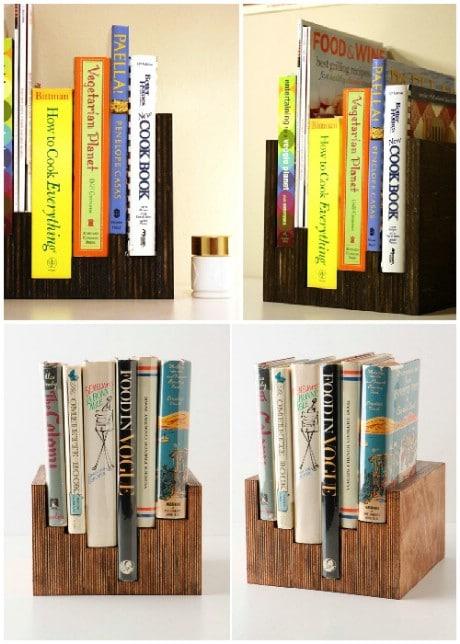 DIY Anthro knockoff bookcase - 32 Brilliant DIY Anthropologie Knockoffs