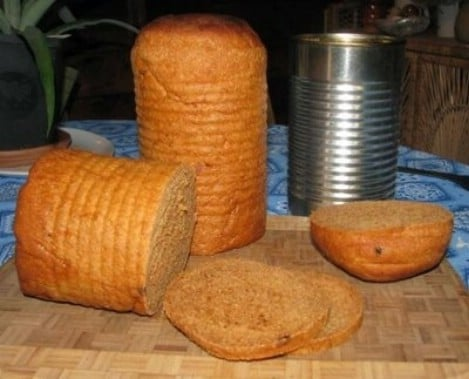 Tin Can Sandwich Bread Recipe