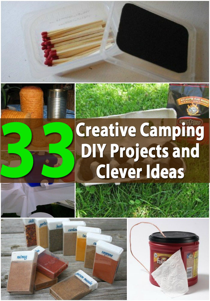 Top 33 Most Creative Camping DIY Projects and Clever Ideas