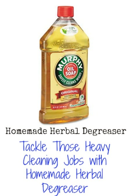 tackle those heavy cleaning jobs with homemade herbal degreaser diy crafts. Black Bedroom Furniture Sets. Home Design Ideas