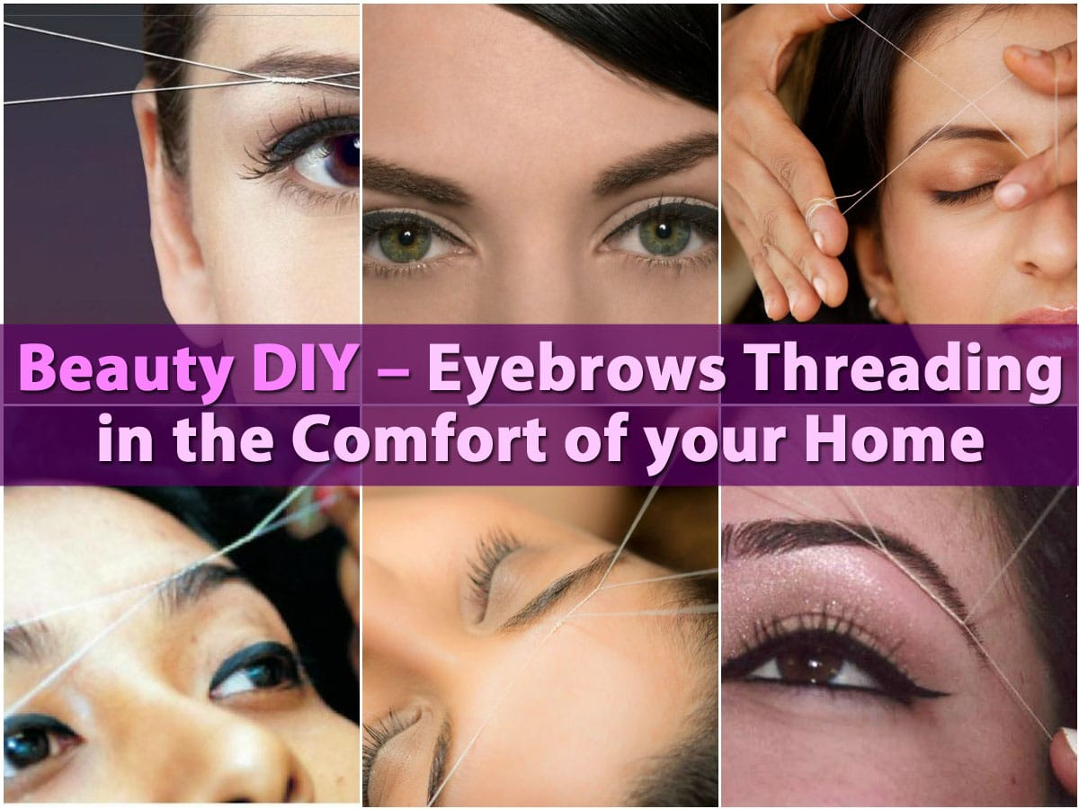 Beauty DIY - Eyebrows Threading in the Comfort of your ... | 1200 x 900 jpeg 123kB