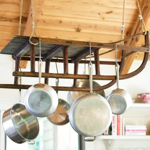 Hang Hangable Kitchen Utensils - Top 58 Most Creative Home-Organizing Ideas and DIY Projects