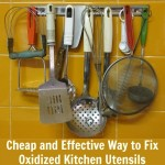 Cheap and Effective Way to Fix Oxidized Kitchen Utensils
