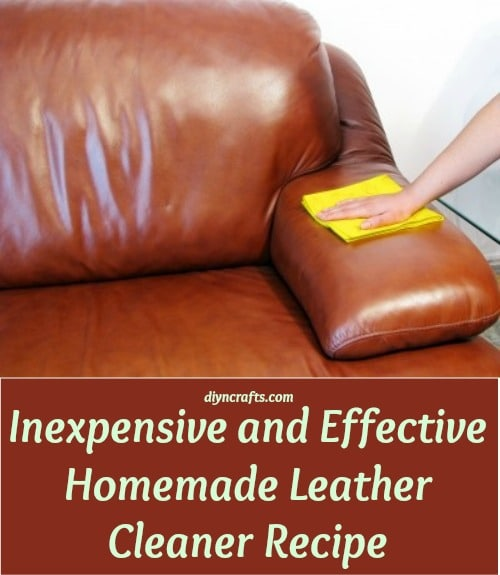 Delicieux Inexpensive And Effective Homemade Leather Cleaner Recipe