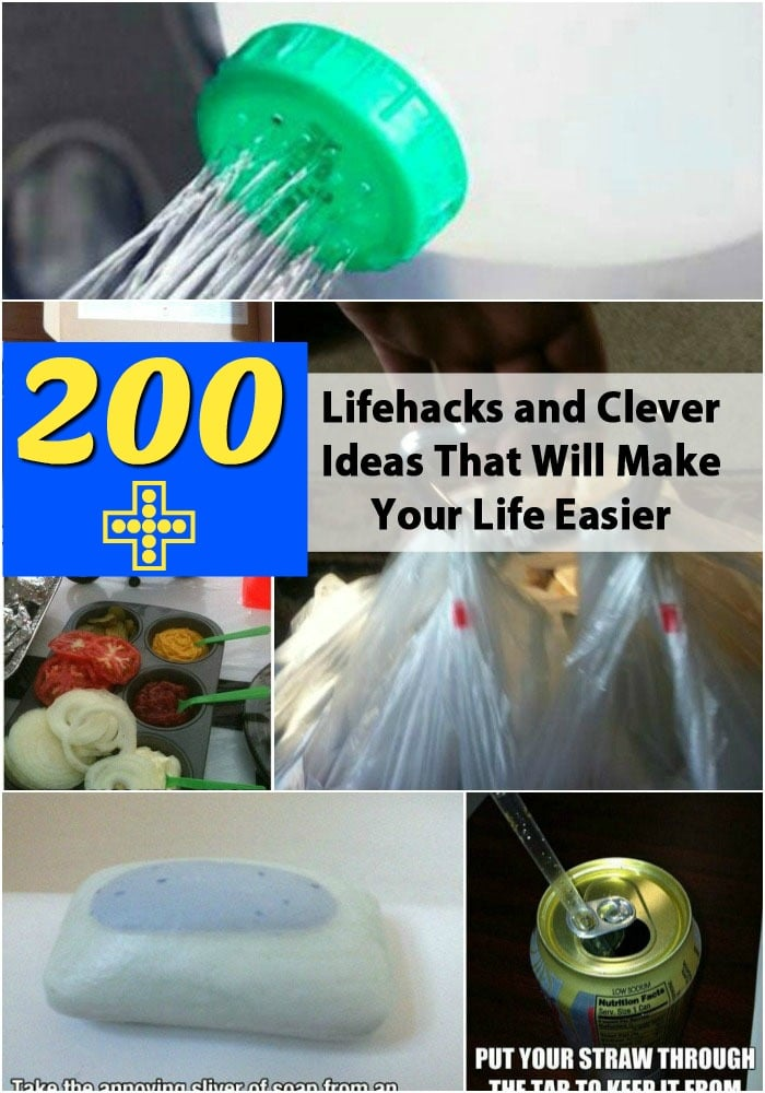 Diy Life Hacks Part - 38: Top 200 Lifehacks And Clever Ideas That Will Make Your Life Easier {Biggest  Source Of
