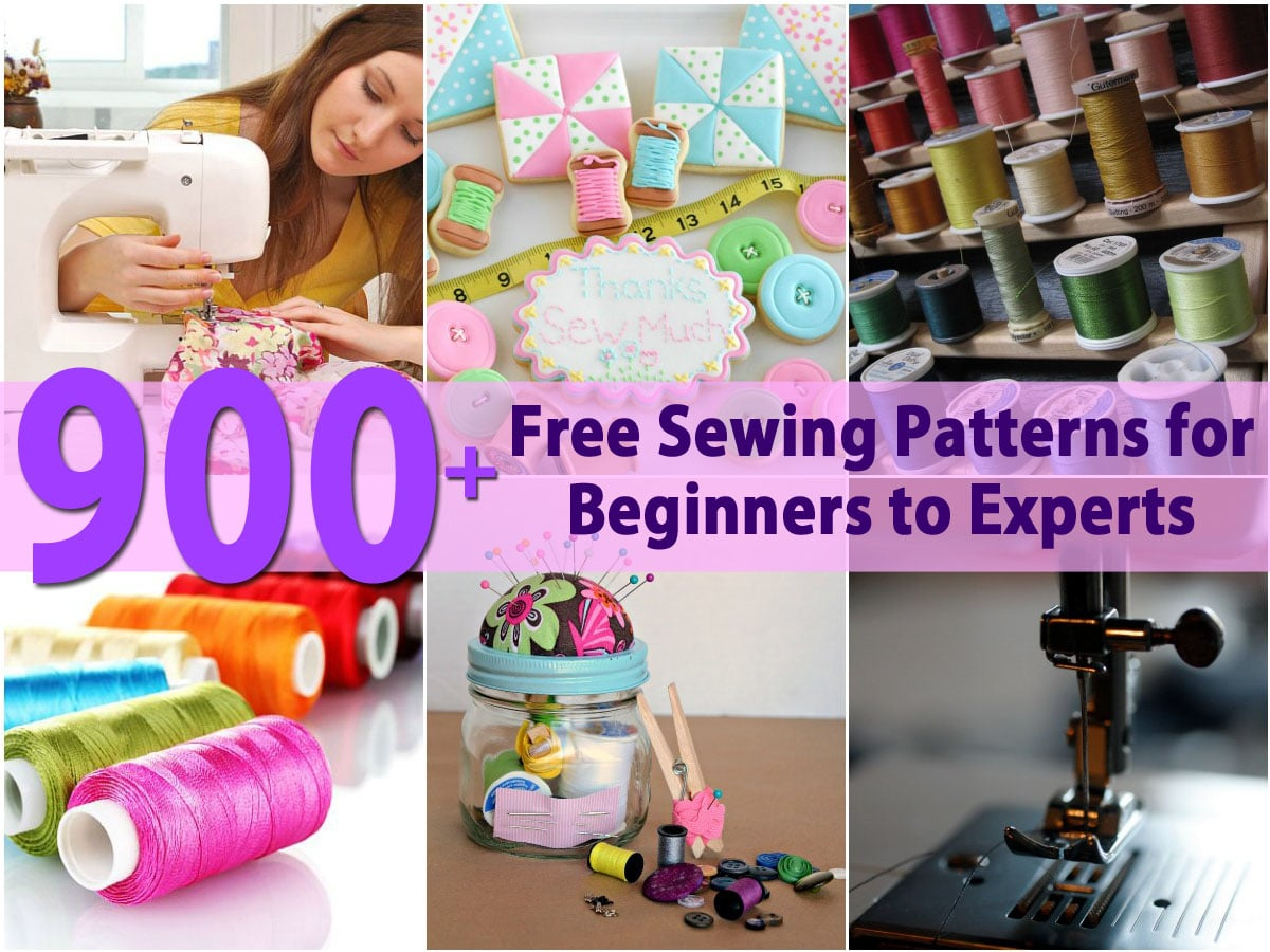 900 free sewing patterns for beginners to experts diy crafts jeuxipadfo Images