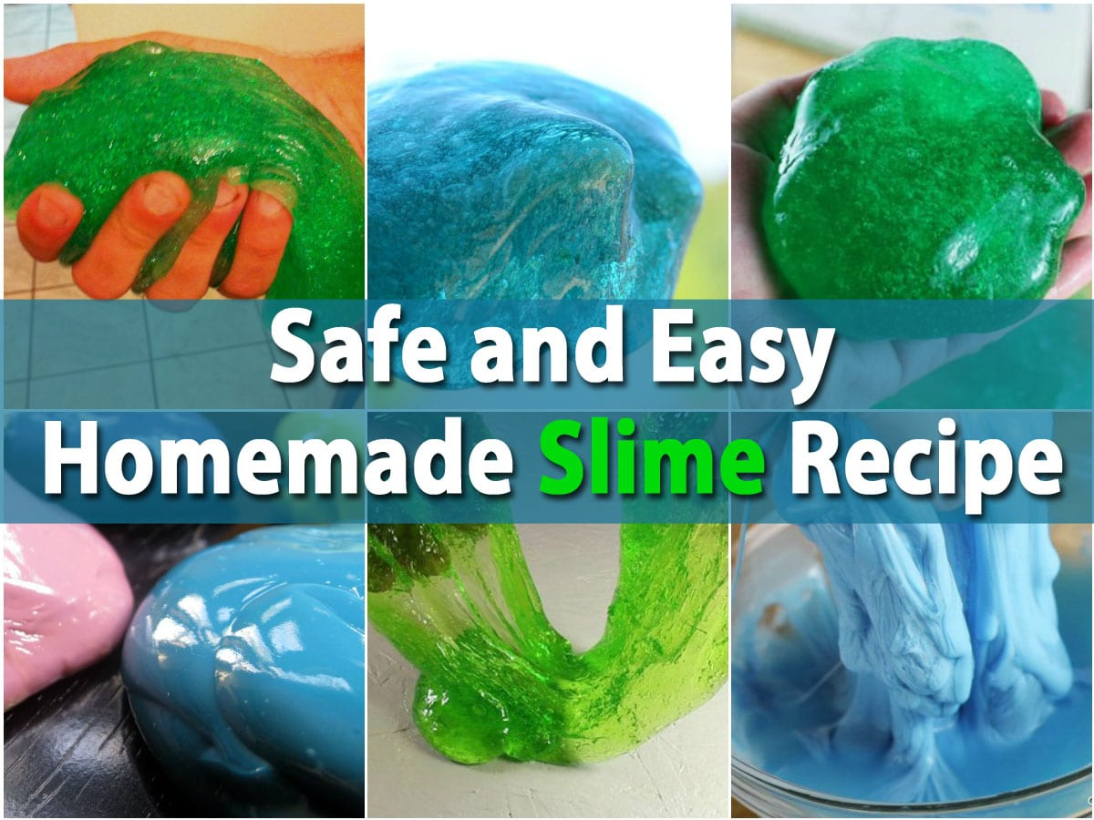 Kids Will Love This Safe and Easy Homemade Slime Recipe ...