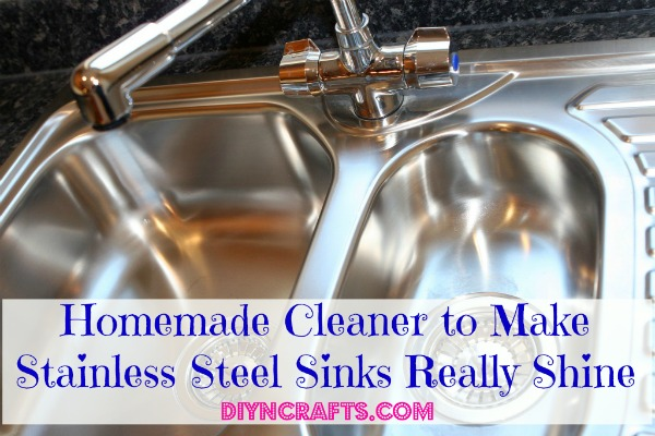 Homemade Cleaner To Make Stainless Steel Sinks Really Shine   DIY U0026 Crafts