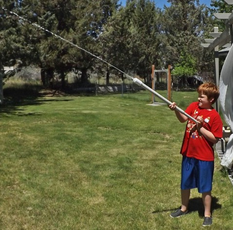 DIY Long Range Shooter Water Gun - 35 Summery DIY Projects And Activities For The Best Summer Ever