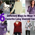 16 Different Ways to Wear Your Favorite Long Sleeved Sweater
