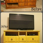 Turn an Old Dresser Into a Fabulous TV Stand