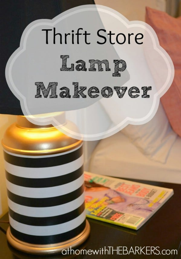 Thrift Store Lamp Makeover - Top 60 Furniture Makeover DIY Projects and Negotiation Secrets
