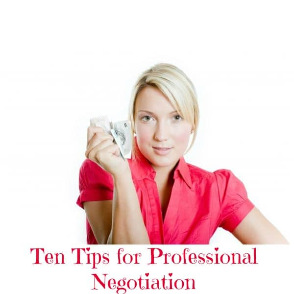 Ten Tips for Negotiating - Top 60 Furniture Makeover DIY Projects and Negotiation Secrets