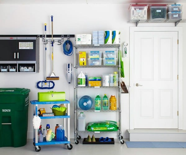 Make Use Of Small Spaces   49 Brilliant Garage Organization Tips, Ideas And  DIY Projects