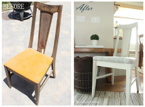 $3 Thrift Store Chair - Top 60 Furniture Makeover DIY Projects and Negotiation Secrets