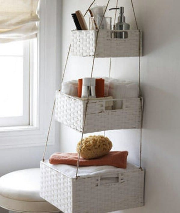 Brilliant Bathroom Organization And Storage DIY Solutions - Bathroom basket ideas for small bathroom ideas