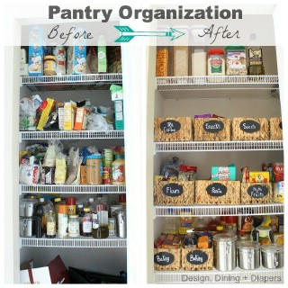 Easy DIY Pantry Transformation   60+ Innovative Kitchen Organization And  Storage DIY Projects