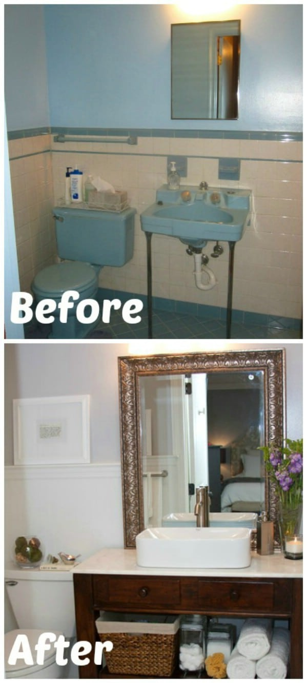master bathroom reveal 30 brilliant bathroom organization and storage diy solutions - Diy Small Bathroom Storage