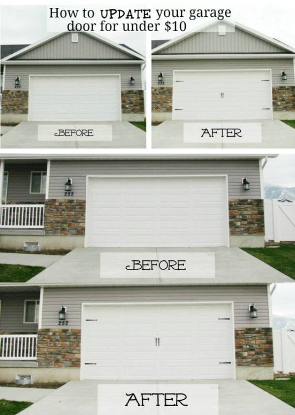 Update Your Garage Doors - 49 Brilliant Garage Organization Tips, Ideas and DIY Projects