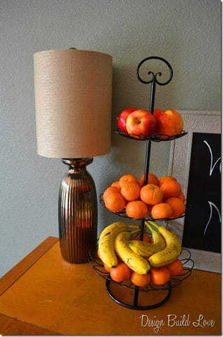 Organize Fruit with a Plant Stand - 60+ Innovative Kitchen Organization and Storage DIY Projects