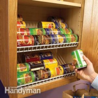 Kitchen Storage Solutions: Pantry Storage Tips & Cabinet Organization Tips - 60+ Innovative Kitchen Organization and Storage DIY Projects