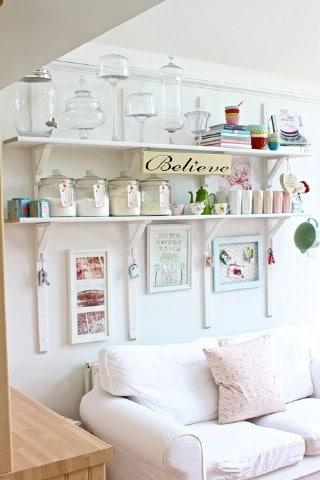 Fabulously Organized Kitchen Shelving - 60+ Innovative Kitchen Organization and Storage DIY Projects