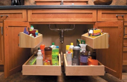 60 innovative kitchen organization and storage diy for American woodcraft kitchen cabinets