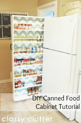 Kitchen Storage Diy Unique 60 Innovative Kitchen Organization And Storage Diy Projects  Diy Decorating Inspiration