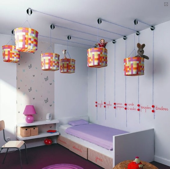 Easy Storage And Organization Solutions For Any Kids Bedroom - Overhead storage bedroom furniture